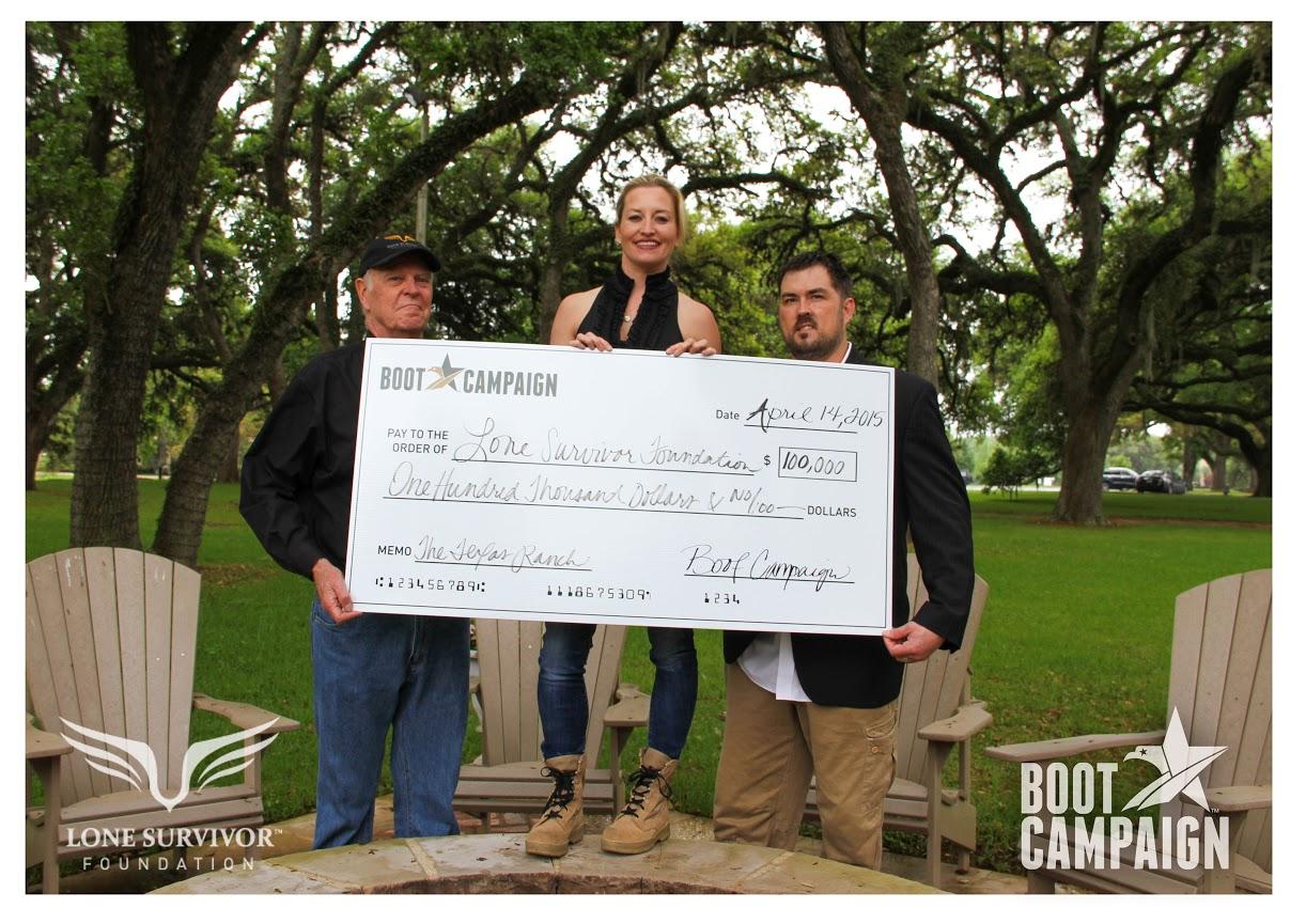 The Boot Campaign Presents Check To Lone Survivor ...