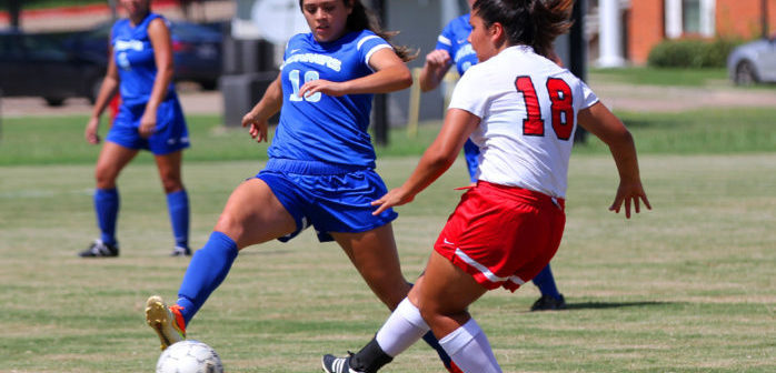 No. 12 Navarro Bests Lady Roadrunners in Conference Opener