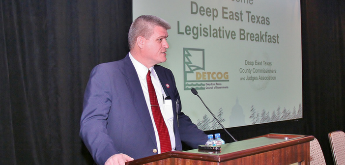 Deep East Texas County Commissioners and Judges Association Receives Legislative Briefing