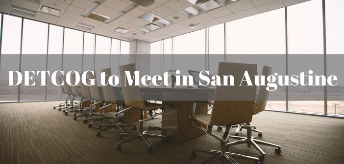 DETCOG Board to Meet in San Augustine