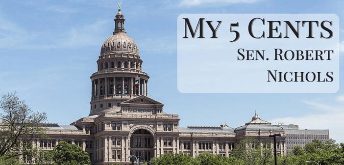 My five cents… A weekly column from Sen. Robert Nichols