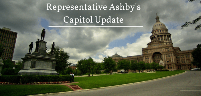 Representative Ashby's Capital Update
