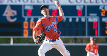 Roadrunners Take Down Alvin College  Six AC Pitchers Combine for Shutout