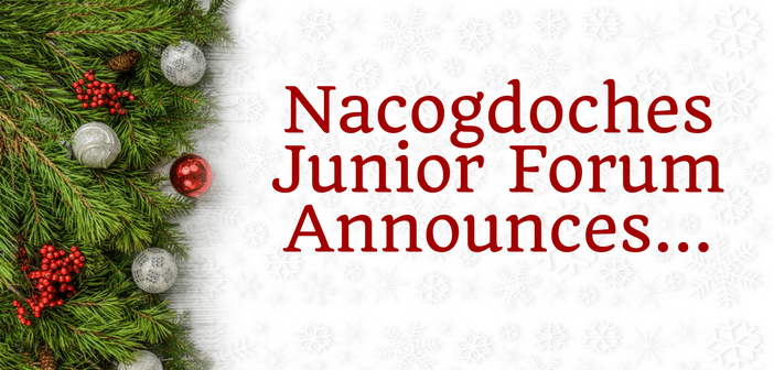 Nacogdoches Junior Forum Announces Market Days