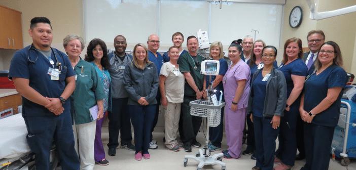 CHI St. Luke's Health-Memorial Volunteer Auxiliary  Donates Valuable Equipment