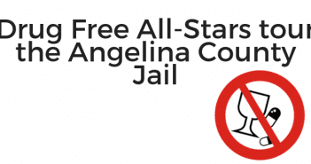Drug Free All-Stars tour the Angelina County Jail