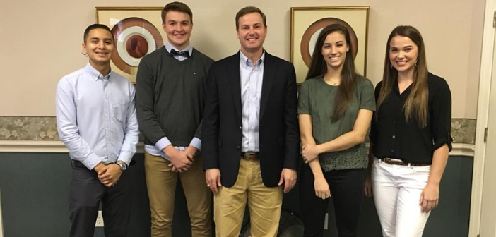 Drug-Free All Stars Meet with Rep. Trent Ashby