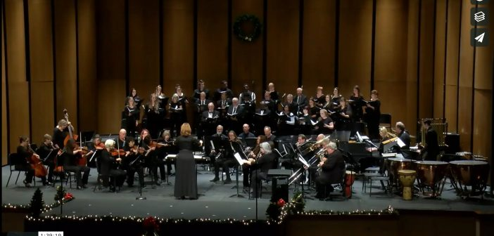 Watch the Angelina College Christmas Concert 2019